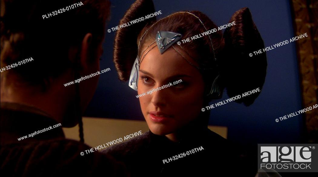 Stock Photo: Hayden Christensen, Natalie Portman, 'Star Wars Episode II: Attack of the Clones' (2002).