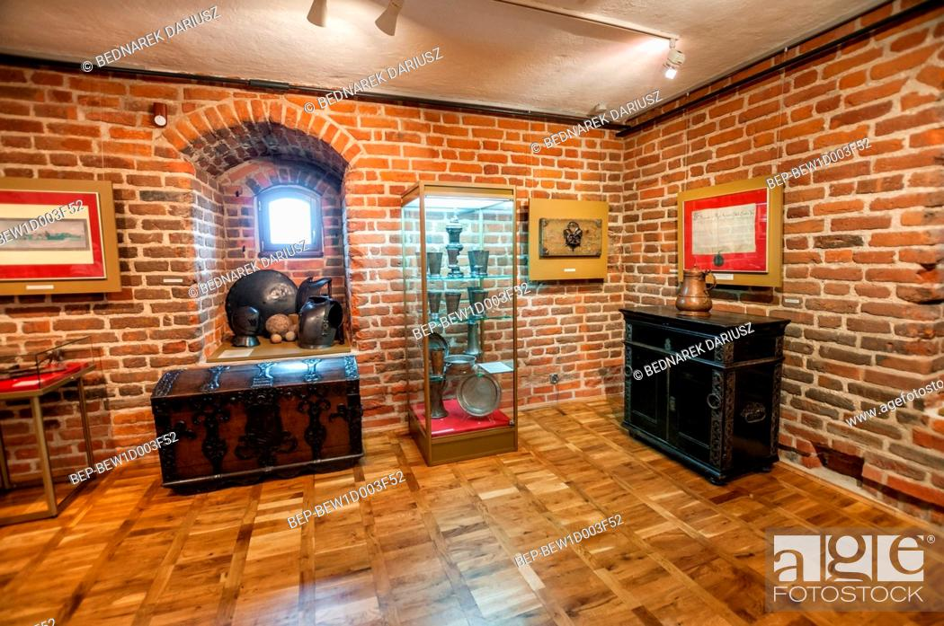 Stock Photo: Historical and Ethnographic Museum, Chojnice, Pomeranian Voivodeship, Poland.