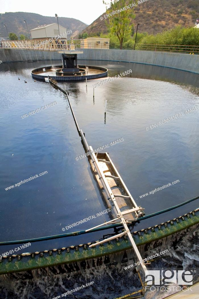Secondary Clarifier, Hill Canyon Wastewater Treatment Plant