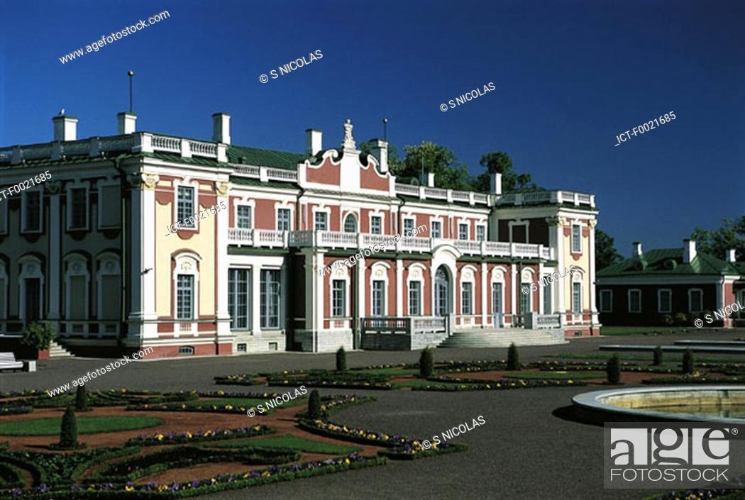 Stock Photo: Estonia, Tallinn, Kadriorg Palace.