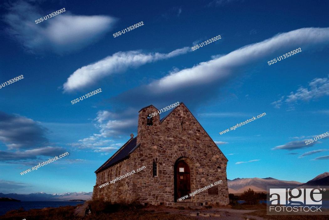 Stock Photo: Stone Church.