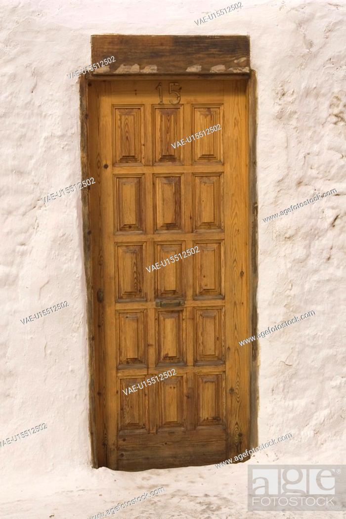 Stock Photo: Building Exterior, Building Structure, Close-Up, Day, Door.