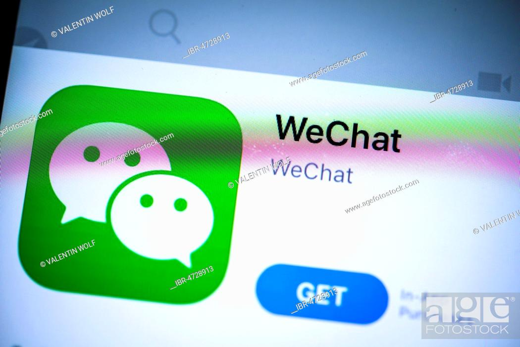 WeChat App in the Apple App Store, chinese instant messenger