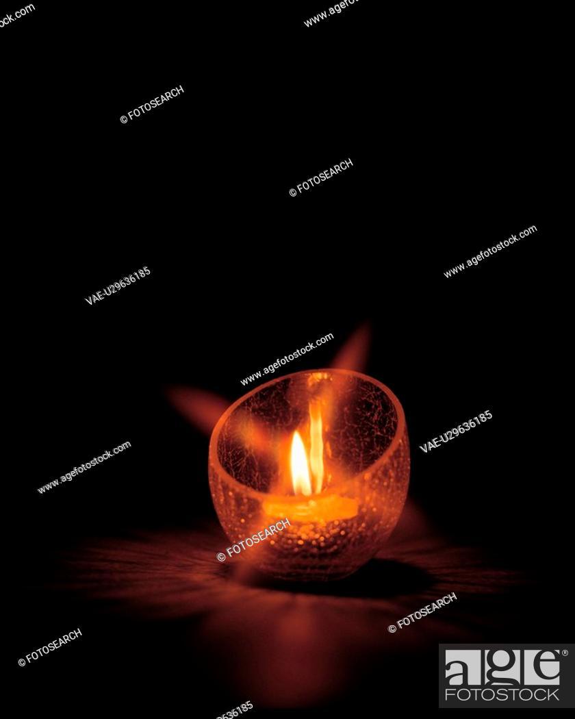 Stock Photo: catholic, liquid candle, light, decoration, film.