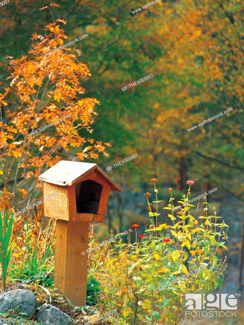 Stock Photo: letter box.