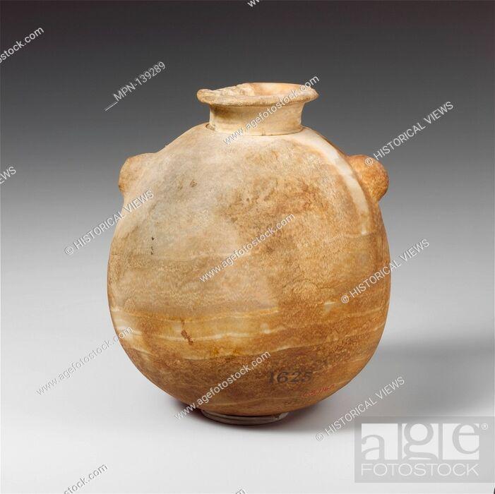 Alabaster Alabastron Perfume Vase Period Archaic Or Classical