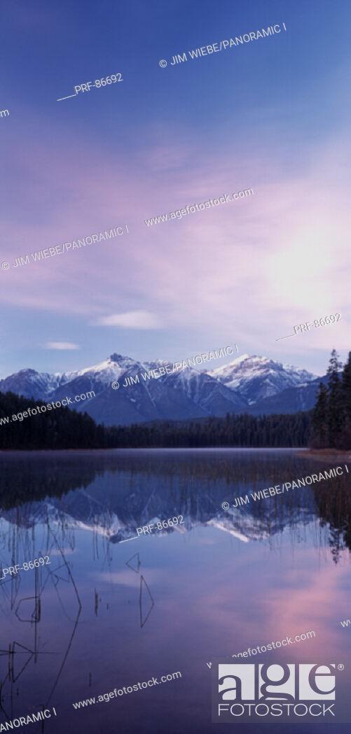 Stock Photo: Cleland Lake British Columbia Canada.