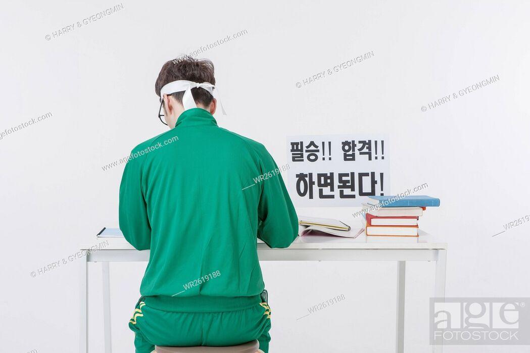 Imagen: Back of male NEET job seeker.