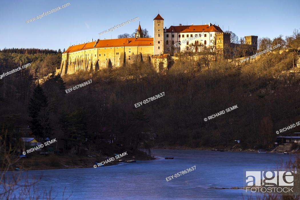 Imagen: Bitov castle in Czech Republic.