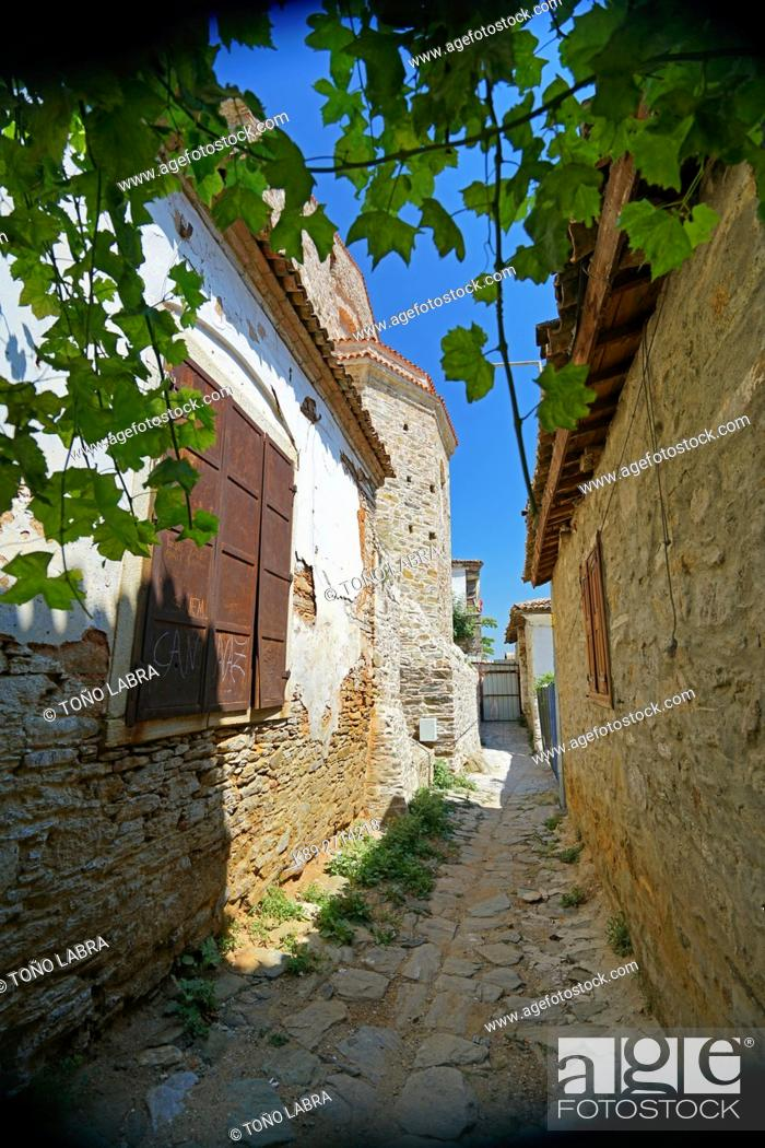 Stock Photo: Sirince. Old Picturesque Greek town. Turkey.