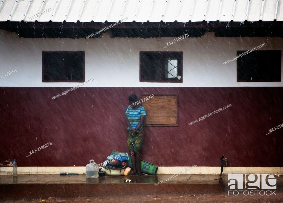 Stock Photo: emergency health care in CAR.