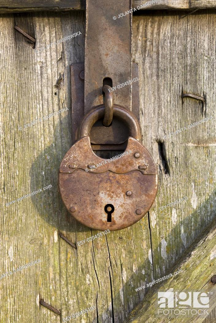 Photo de stock: padlock.