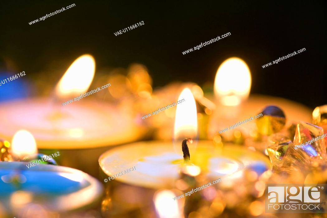 Stock Photo: Candle.
