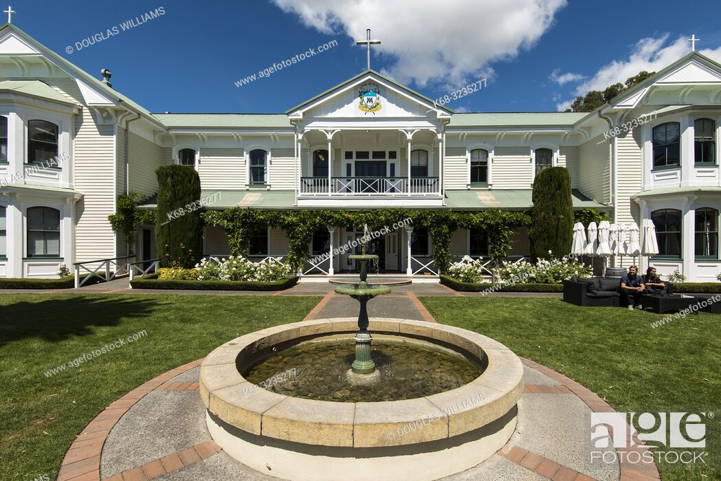 Stock Photo: Mission Estate Winery, Napier, Hawkes Bay, New Zealand.
