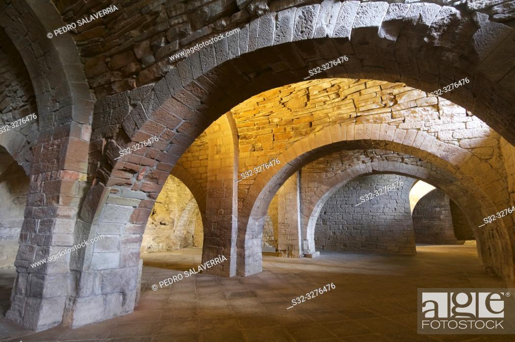 Imagen: Council Room in San Juan de la Peña Monastery, Huesca Province, Aragon, Spain.