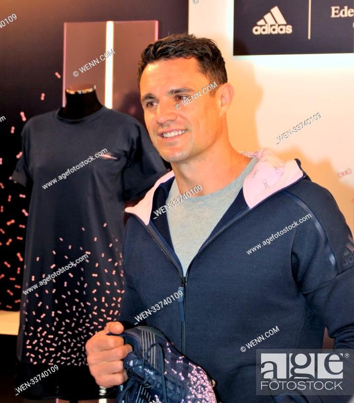triste delicadeza Escalera  Dan Carter attends a Adidas x Eden Park launch party Featuring: Dan Carter  Where: Paris, Stock Photo, Picture And Rights Managed Image. Pic.  WEN-33740109   agefotostock