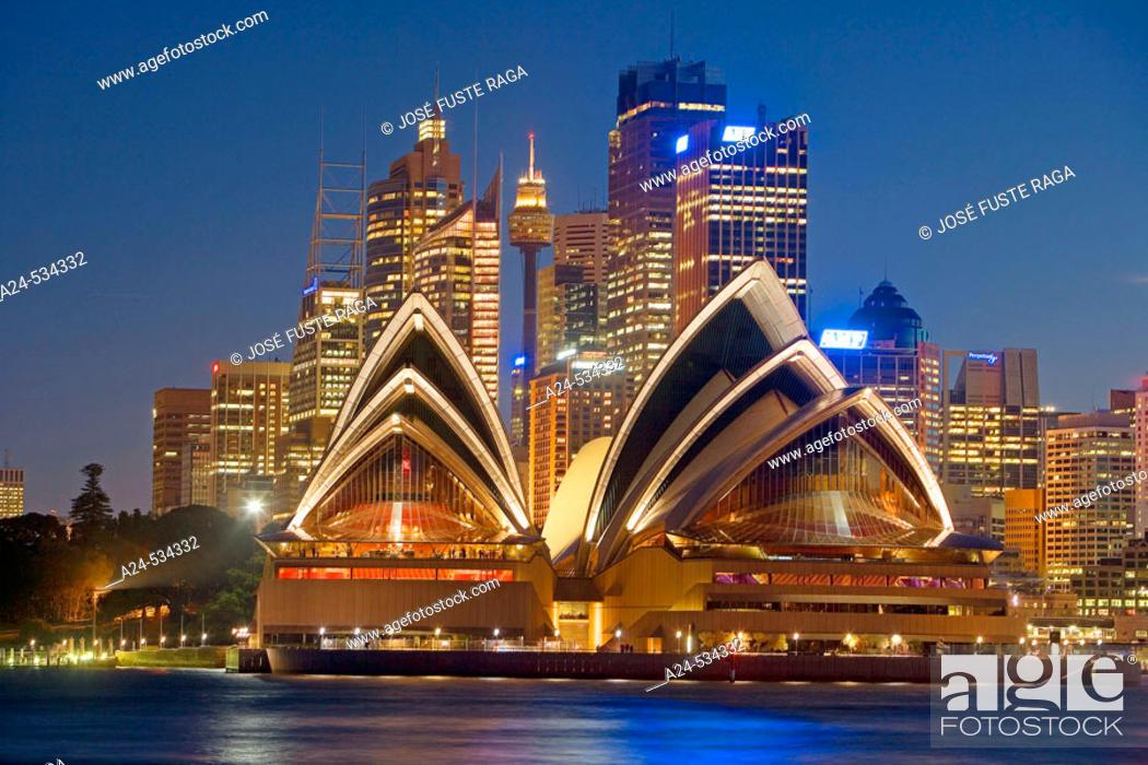 Stock Photo: Sydney City. New South Wales. Australia. April 2006.