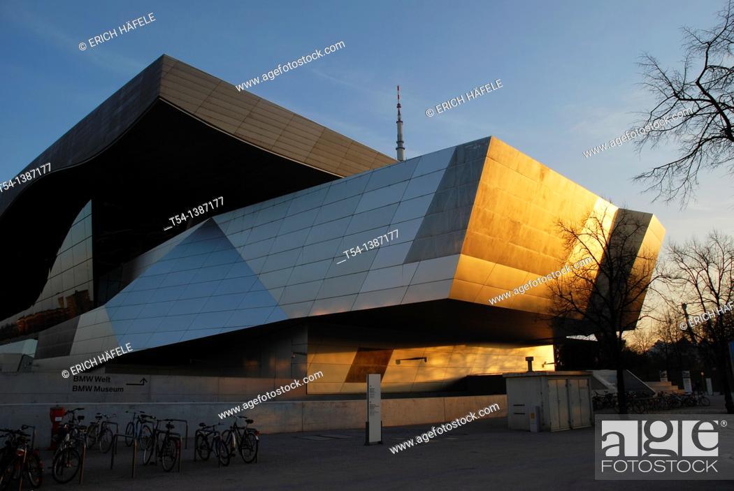 Stock Photo: BMW Welt in Munich.