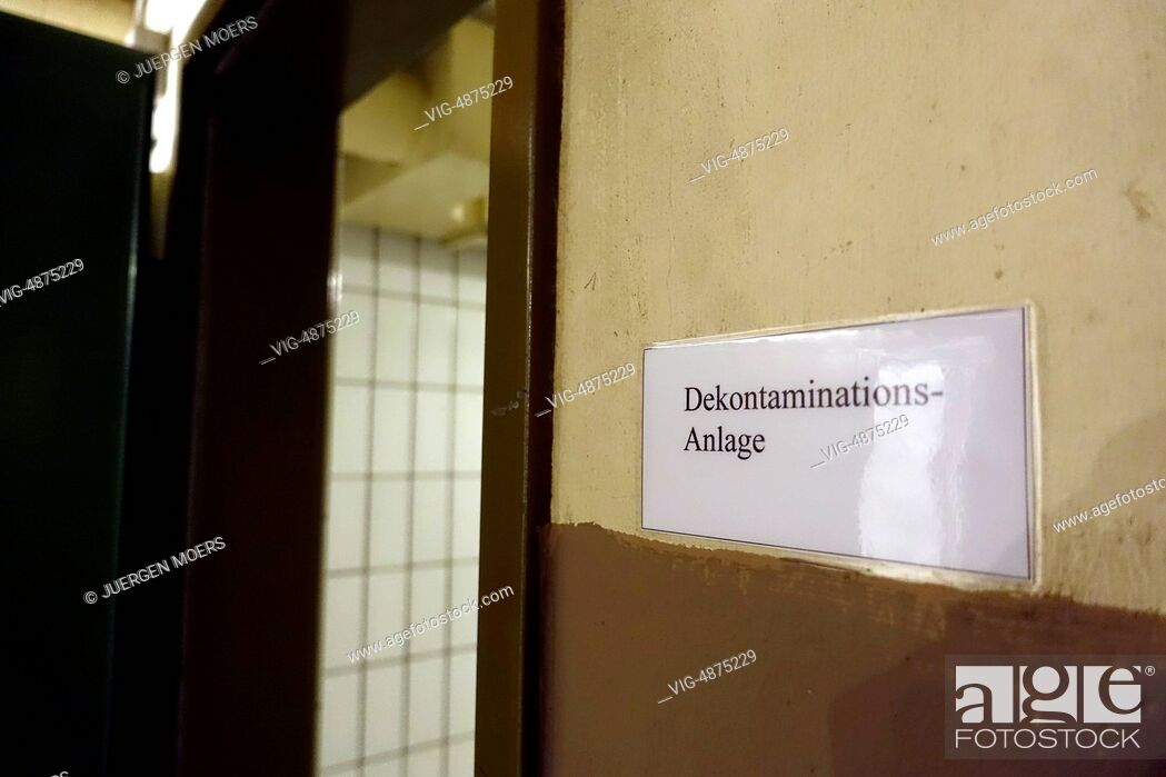 Imagen: 29.08.2014, Germany, Bad Neuenahr, Ahrweiler, Marienthal, Documentation site government fallout shelter . - Ahrweiler, Germany, 29/08/2014.