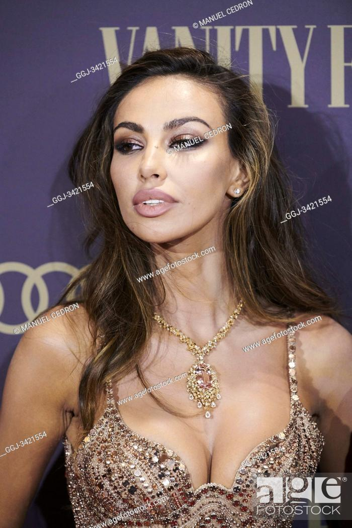 Stock Photo: Madalina Diana Ghenea attends the Vanity Fair 'Person of the year 2019' at Royal Theatre on November 25, 2019 in Madrid, Spain.