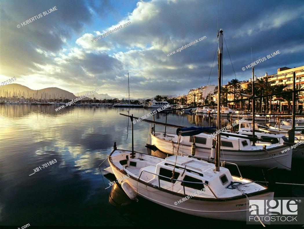 Stock Photo: Majorca, Port Alcudia, Spain.