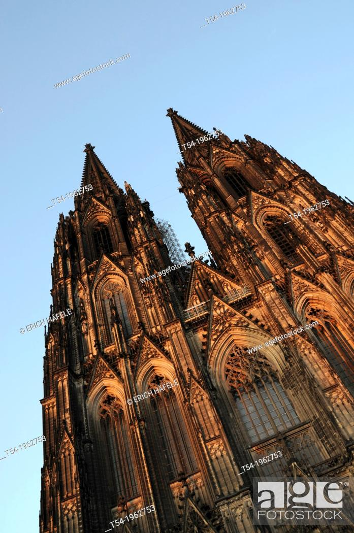Stock Photo: Cologne Cathedral.