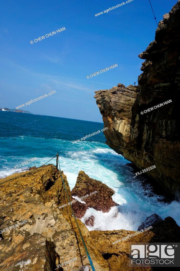 Stock Photo: Timang beach, Yogyakarta, Java, Indonesia, Asia.