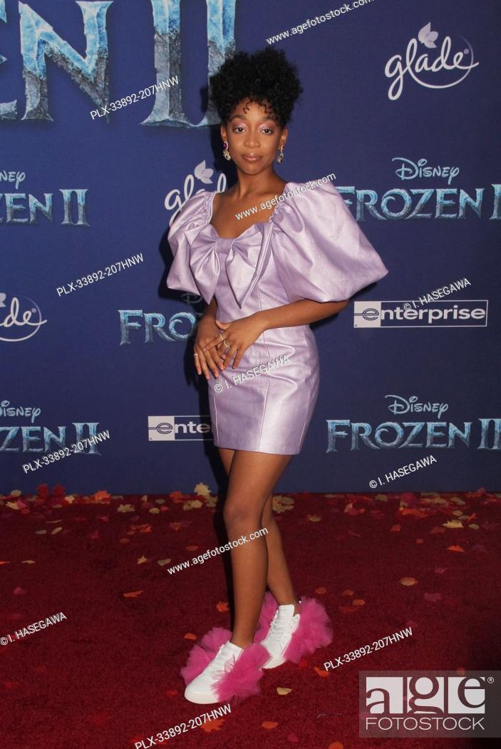 """Stock Photo: Eris Baker 11/07/2019 The World Premiere of """"""""Frozen 2"""""""" held at the Dolby Theatre in Los Angeles, CA. Photo by I. Hasegawa / HNW / PictureLux."""