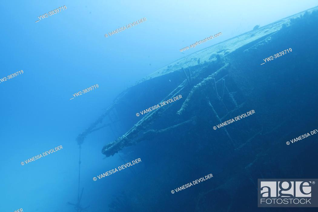Stock Photo: The Hilma Hooker is a shipwreck located in the Caribbean Sea around Bonaire.