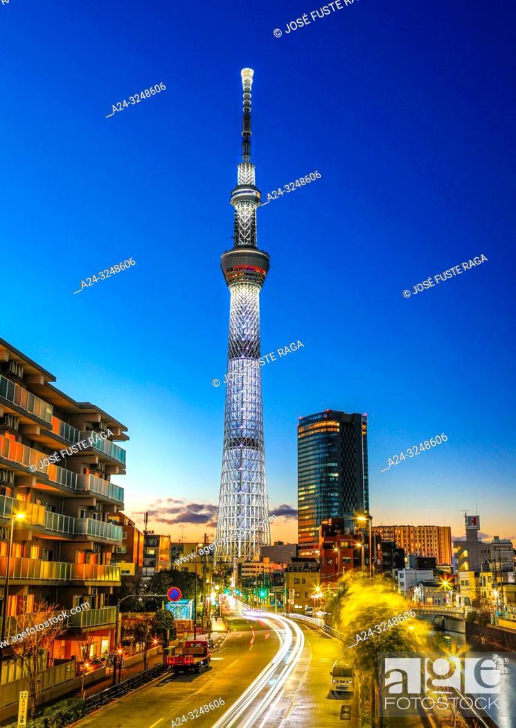 Imagen: Japan, Tokyo City, Sky Tree Tower.