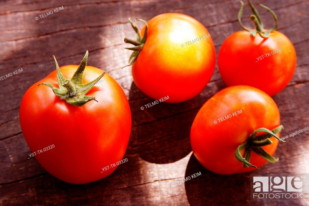 Stock Photo: Tomato, food, mature, ripe, vegetable, Brazil.