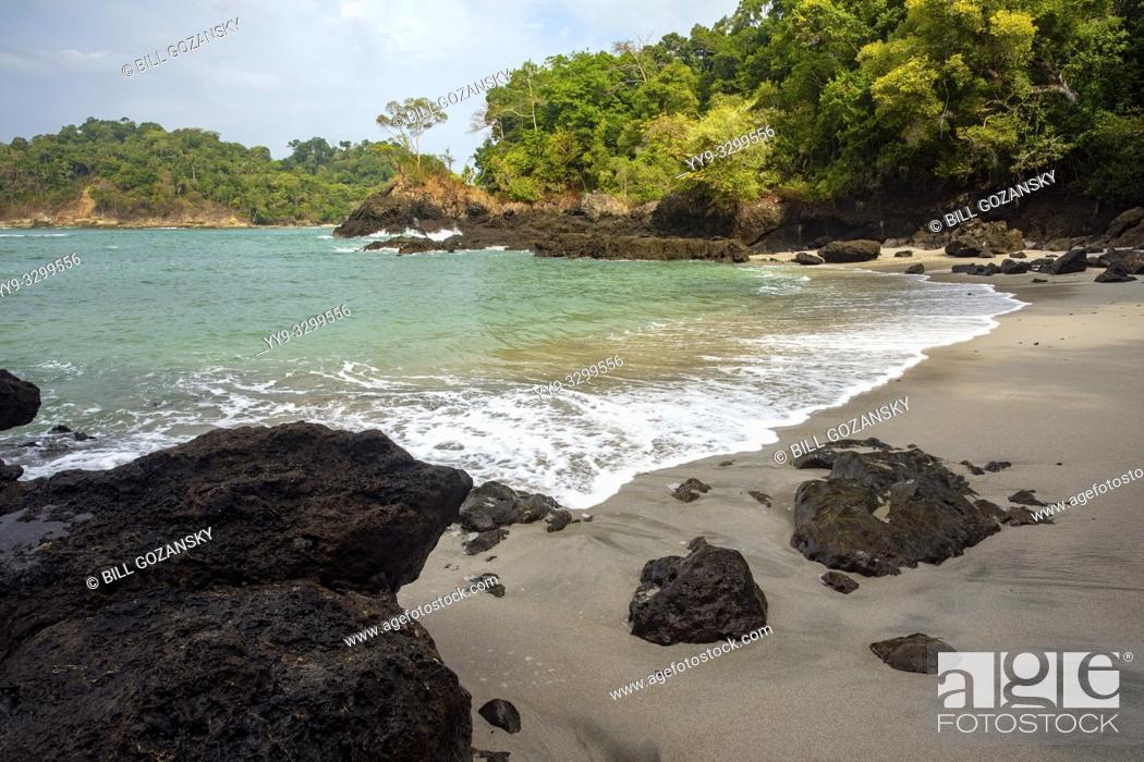 Stock Photo: Playas Gemelas Beach - Manuel Antonio National Park - Quepos, Costa Rica.