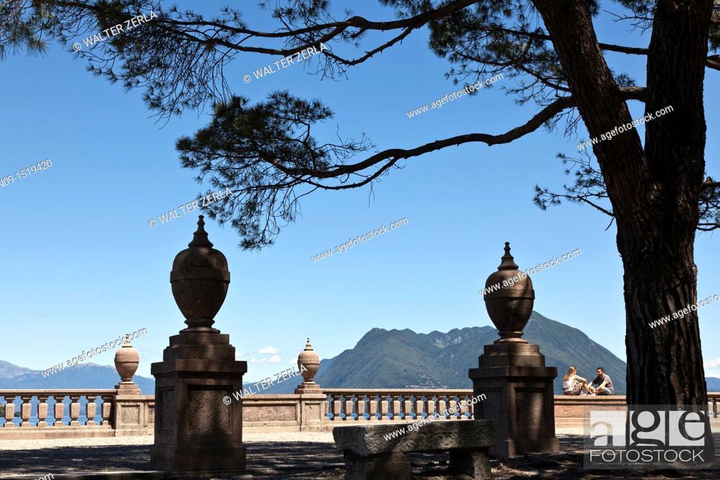 Stock Photo: Stresa, Lake Maggiore, Italy.