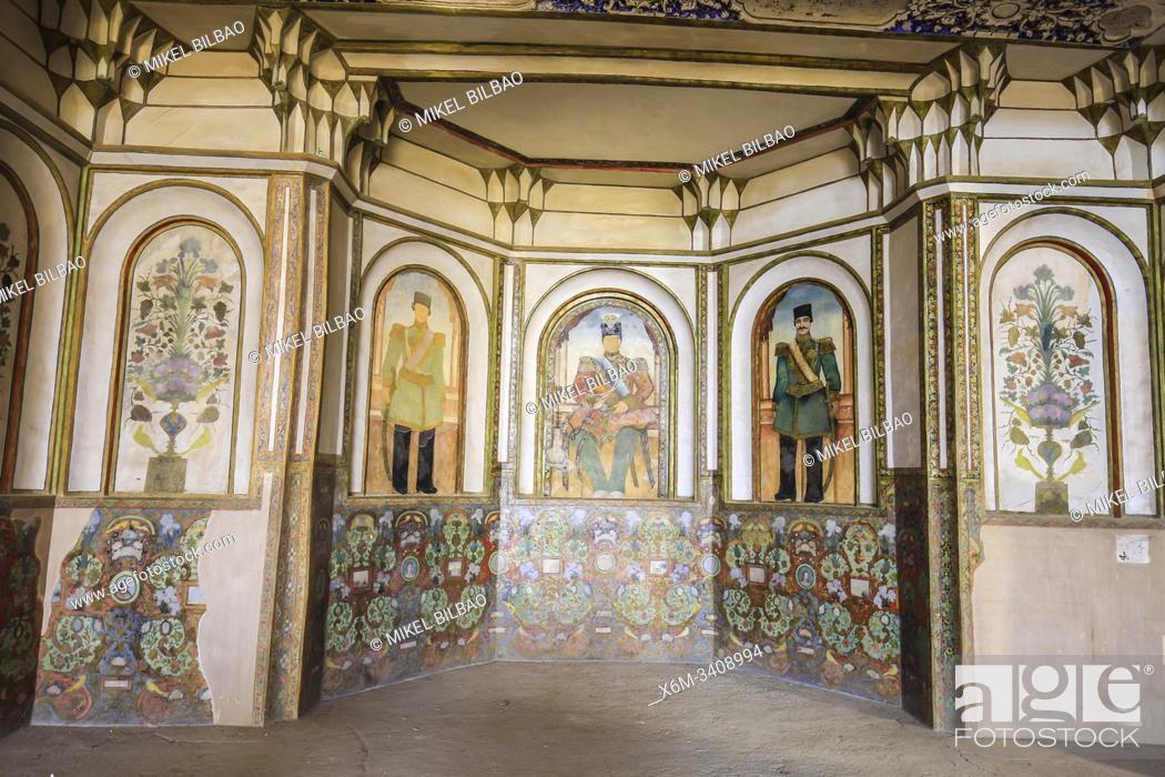 Stock Photo: Boroujerdi Historical House (Khan-e Boroujerdi). Kashan. Iran, Asia.