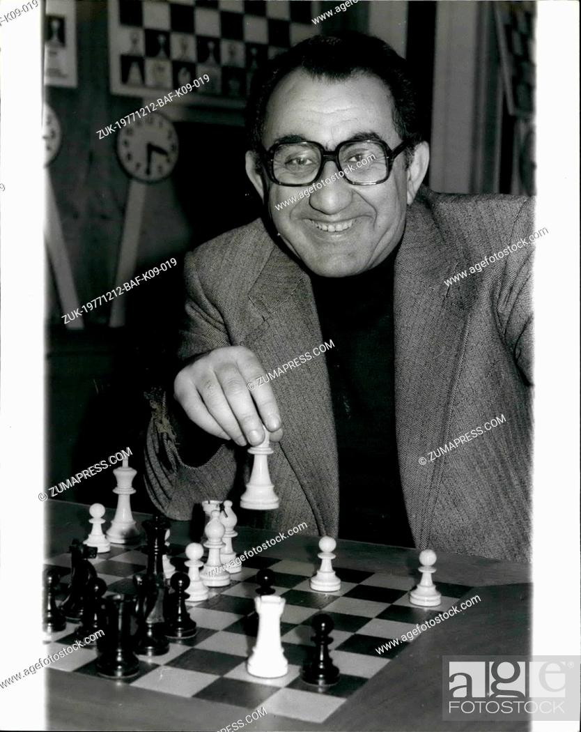 Imagen: Dec. 12, 1977 - Hastings International Chess Congress: The 53rd Annual Hastings International Chess Congress held at the White Rock Pavilion and Falaise Hall.