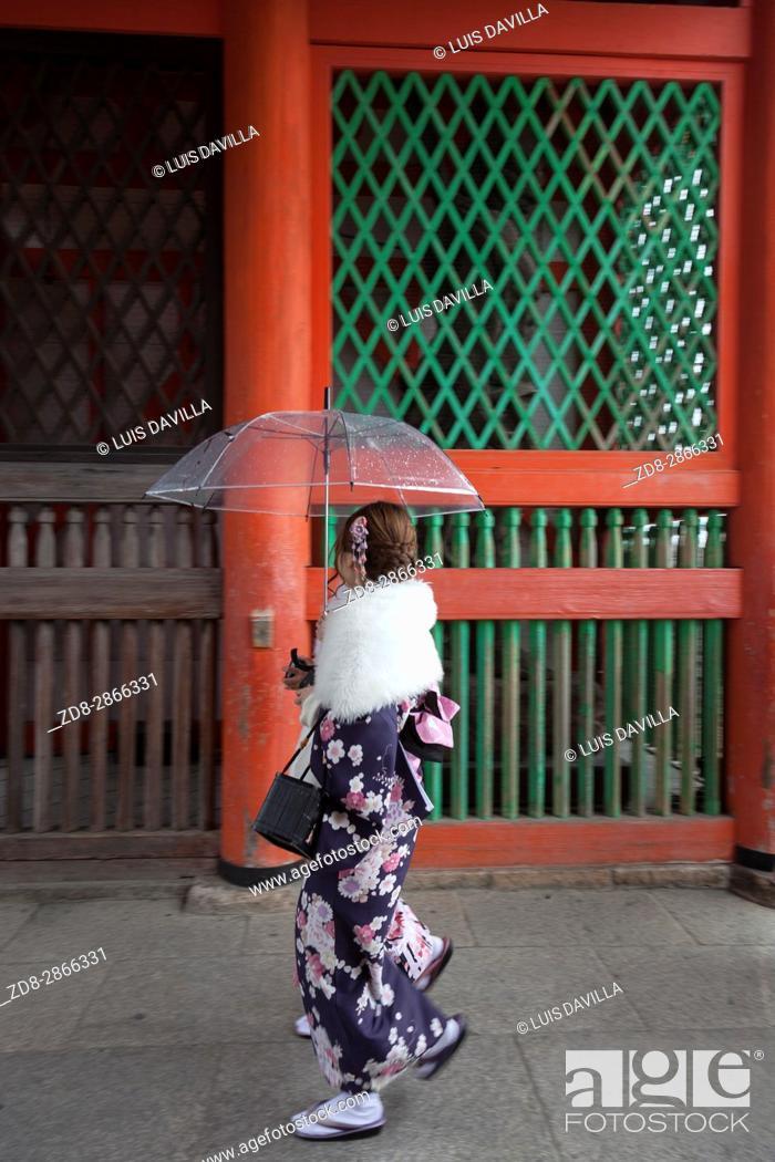 Imagen: Niomon door in Kiyomizu-dera temple.