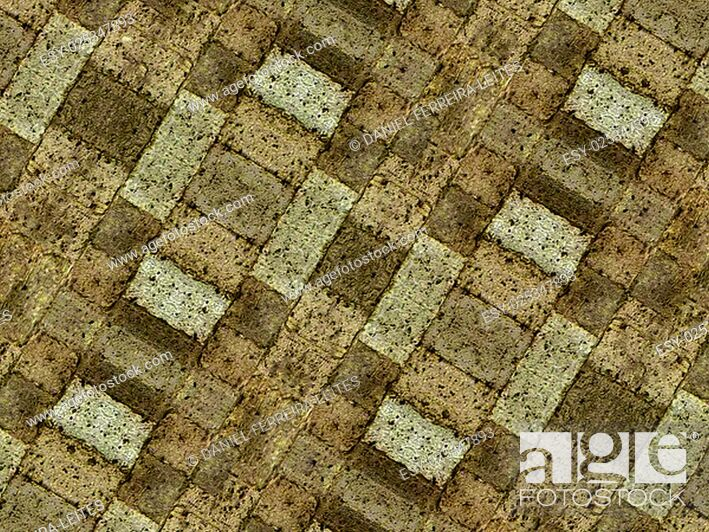 Stock Photo: Brown tones grunge stone pattern texture also useful as background.