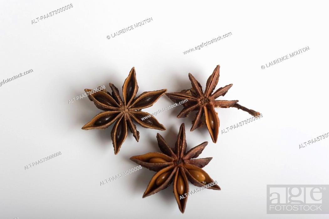 Stock Photo: Star anise.