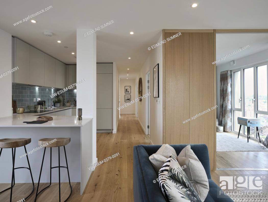 Stock Photo: Show flat interior. Mapleton Crescent, LONDON, United Kingdom. Architect: Metropolitan Workshop, 2018.