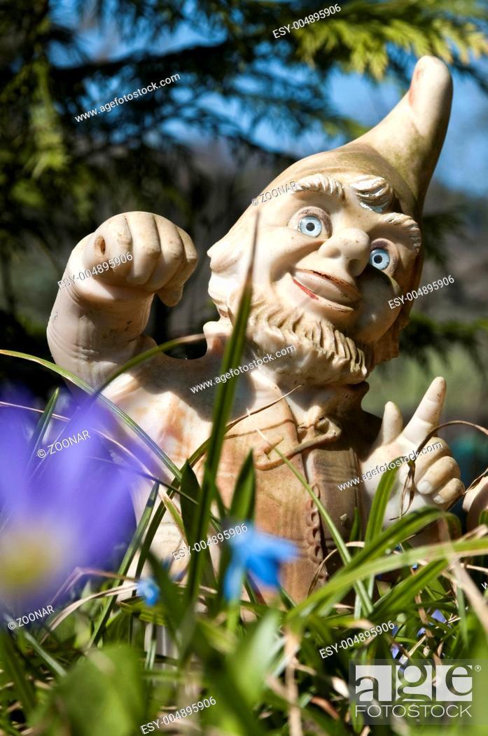 Stock Photo: Garten dwarf.