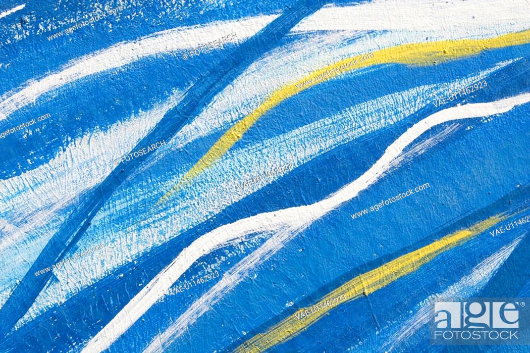 Stock Photo: Blue, Design, Close-Up, Abstract.
