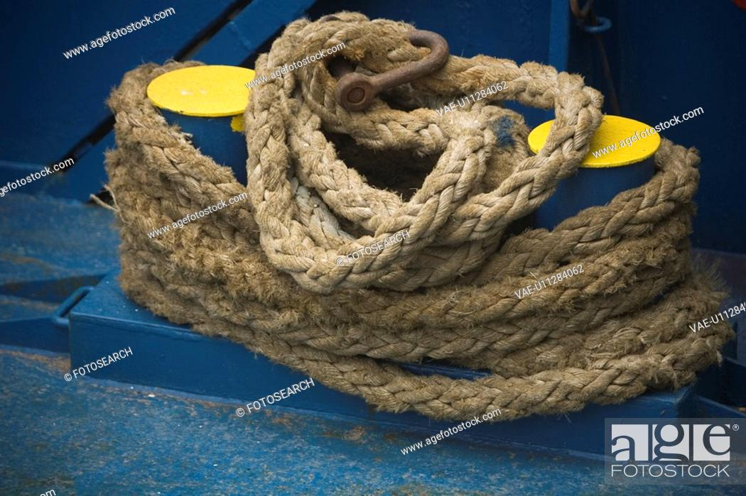 Stock Photo: Arrangement, Coiled, Close-Up, Braided, Appearance.