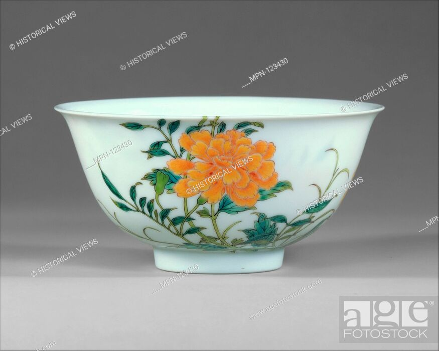 Bowl  Period: Qing dynasty (1644-1911), Yongzheng mark and