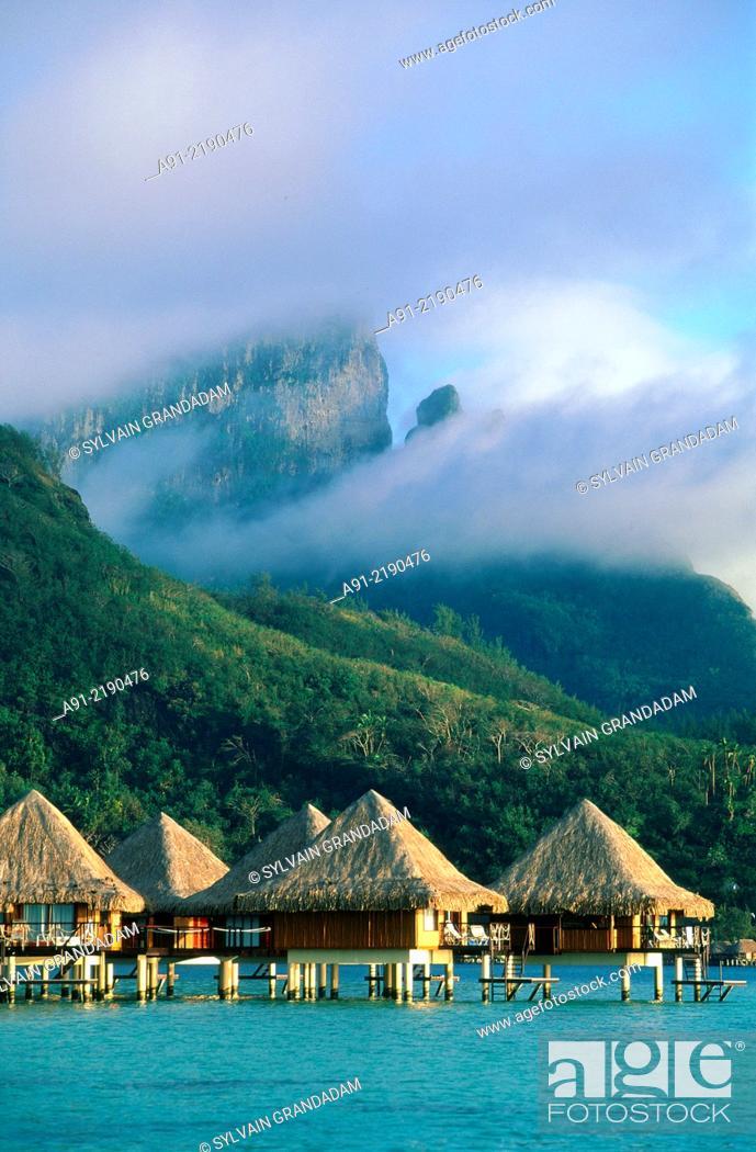 French Polynesia The Leeward Islands Iles Sous Le Vent