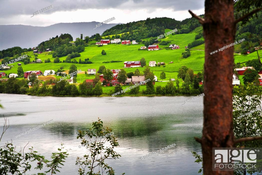 Stock Photo: Voss, Hordaland Norway.