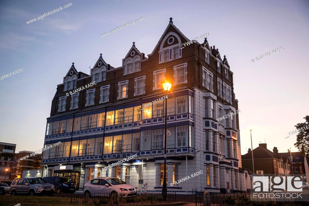 Stock Photo: Comfort Inn Hotel, Ramsgate, Kent, England, UK.