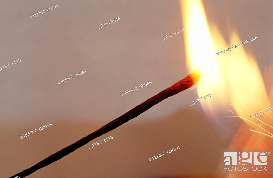 Stock Photo: Incense.