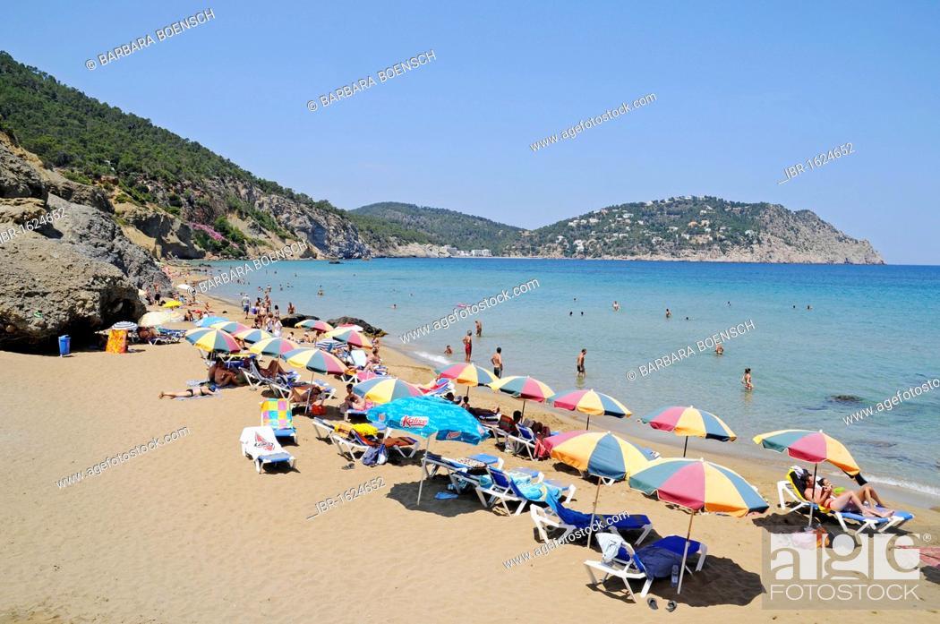 S'Aigo Blanca, Aigua, Agua Blanca, beach, Sant Vicent de la
