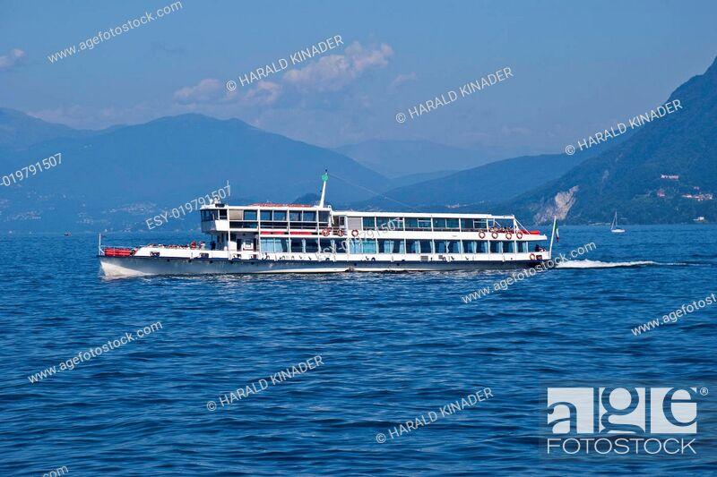 Stock Photo: Lago Maggiore.