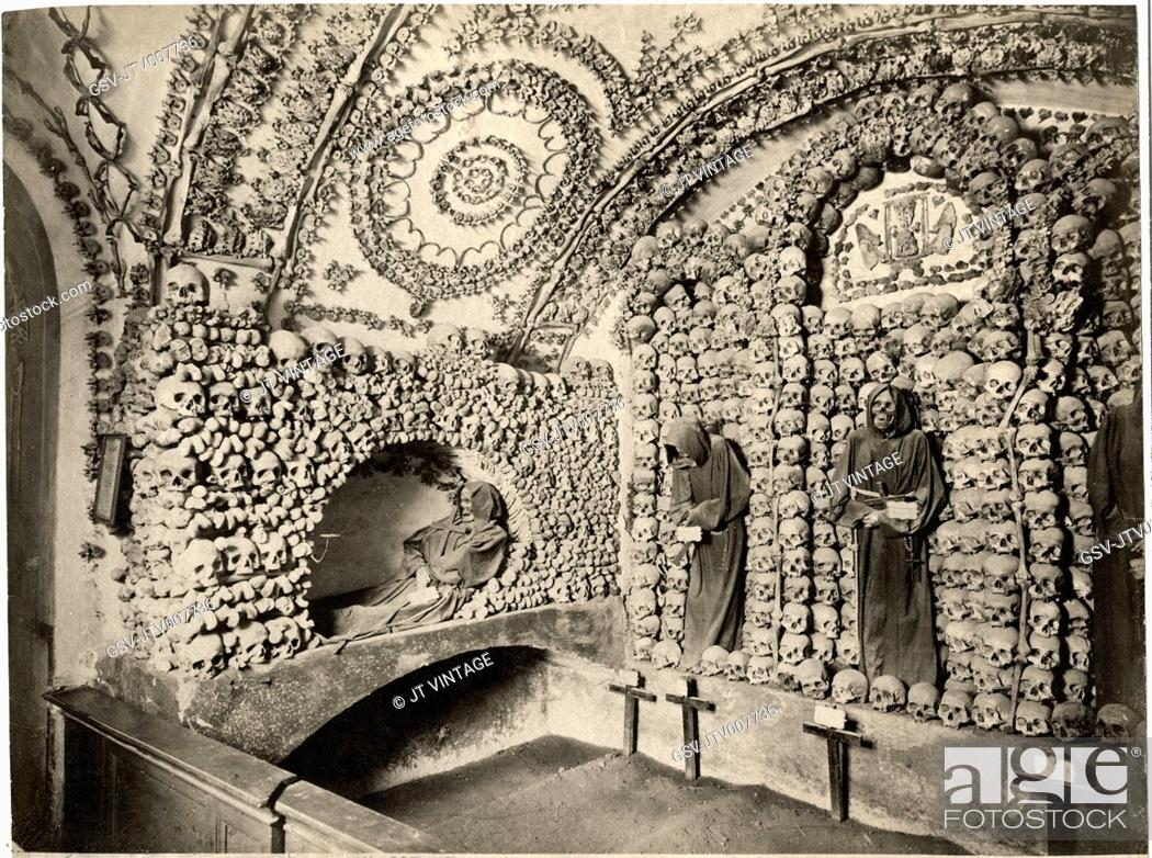 Imagen: Capuchin Catacombs, Palermo, Sicily, Italy.